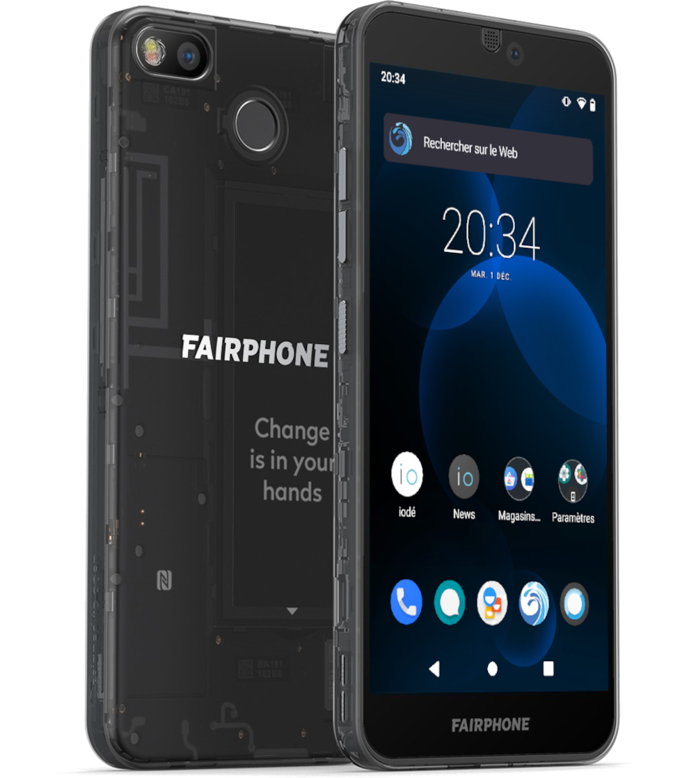 Fairphone 3 with iodéOS