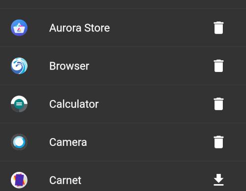 iodé apps menu