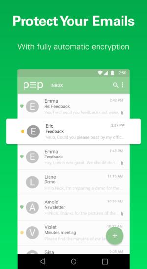 pEp email iodé