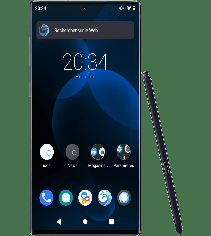 Refurbished Samsung note10 with iodéOS