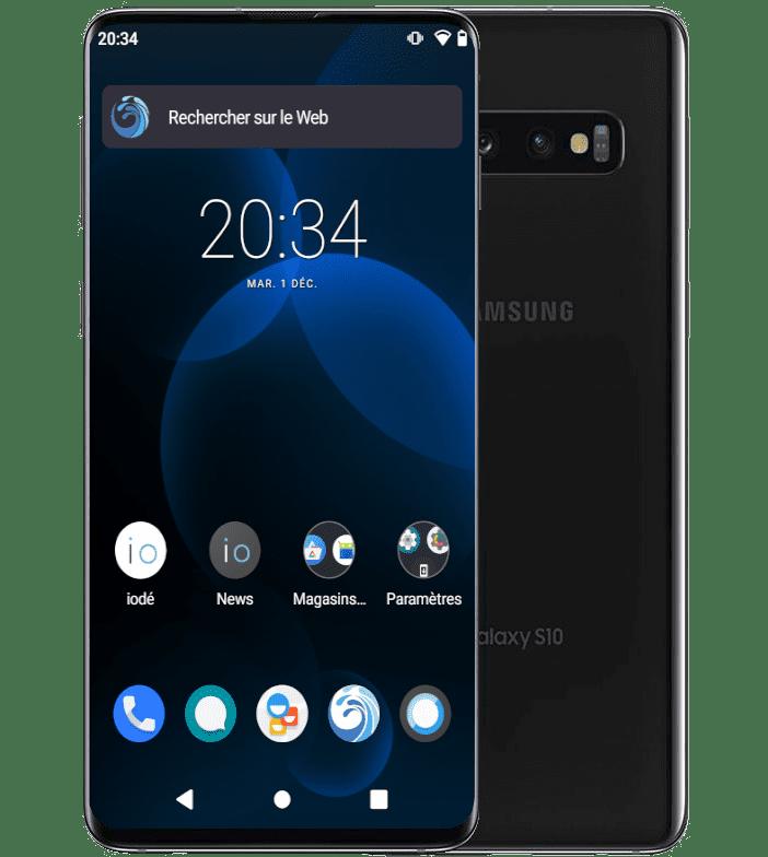 Refurbished Samsung S10 with iodéOS